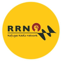 Logo of radio station Refugee Radio Network