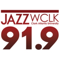 Logo of radio station WCLK-FM JAZZ
