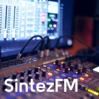 Logo of radio station Sintez FM