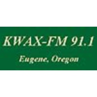 Logo of radio station KWAX 91.1