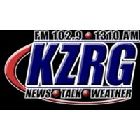 Logo of radio station KZRG 1310