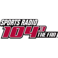 Logo of radio station 104.3 The Fan