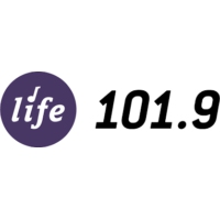 Logo of radio station KNWS LIFE 101.9