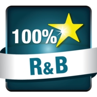 Logo de la radio Hit Radio - 100% RNB