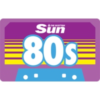 Logo of radio station Scot Sun 80s