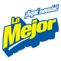 Logo of radio station La Mejor FM Monterrey