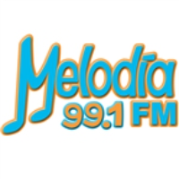 Logo of radio station Melodía FM - 99.1 FM La Paz