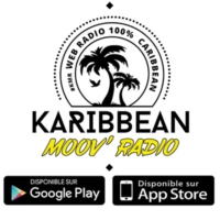 Logo of radio station KARIBBEAN MOOV RADIO