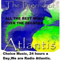 Logo of radio station Atlantis FM UK