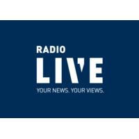 Logo of radio station RadioLIVE