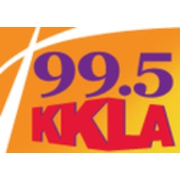 Logo of radio station KKLA