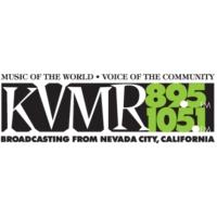 Logo of radio station KVMR