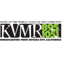 Logo of radio station KVMR
