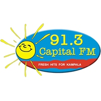 Logo of radio station Capital Radio Uganda