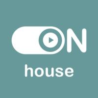 """Logo of radio station """"ON House"""""""