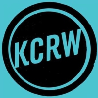 Logo of radio station KCRW