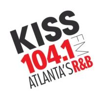 Logo of radio station WALR-FM KISS 104.1