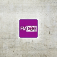 Logo of radio station FMDOS