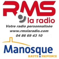 Logo of radio station RMS MANOSQUE
