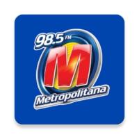 Logo de la radio Metropolitana 98.5 FM