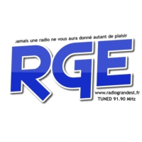 Logo of radio station RGE