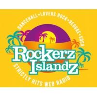 Logo de la radio Rockerz Islandz