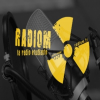 Logo of radio station RADIOM