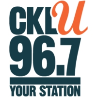 Logo of radio station CKLU