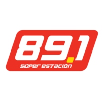 Logo of radio station La Súper Estación 89.1