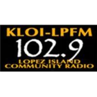 Logo of radio station KLOI-LP 102.9
