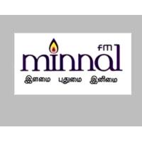 Logo of radio station Minnal fm