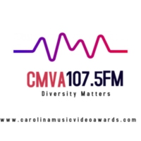 Logo of radio station CMVA 107.5FM