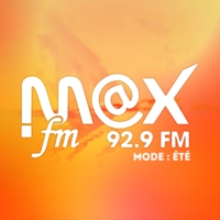 Logo of radio station Max FM 92.9