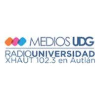 Logo of radio station XHAUT Red UDG Radio