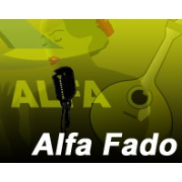 Logo of radio station Radio Alfa Fado