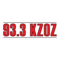 Logo of radio station 93.3 KZOZ-FM