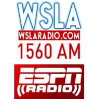 Logo of radio station WSLA ESPN