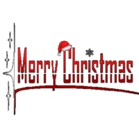 Logo of radio station Merry Christmas