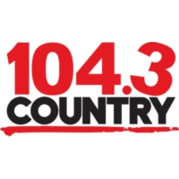 Logo of radio station CJQM-FM Country 104.3