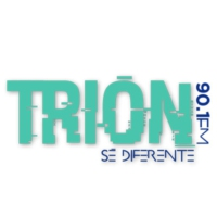 Logo of radio station Trion 90.1 FM