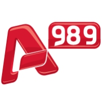 Logo of radio station Alpha 989