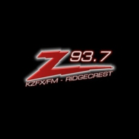 Logo of radio station KZFX Z-93.7 FM