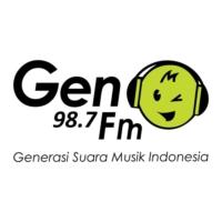 Logo of radio station 987 Gen FM
