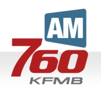 Logo of radio station KFMB AM 760
