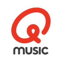 Logo of radio station Q-music