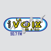 Logo of radio station La Voix de St-Lo