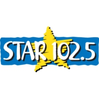 Logo of radio station KDRB FM STAR 102.5
