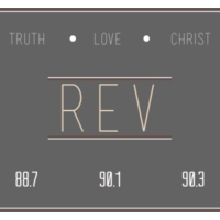 Logo of radio station Rev radio