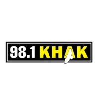 Logo of radio station 98.1 KHAK