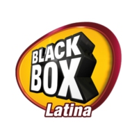 Logo of radio station BlackBox Latina